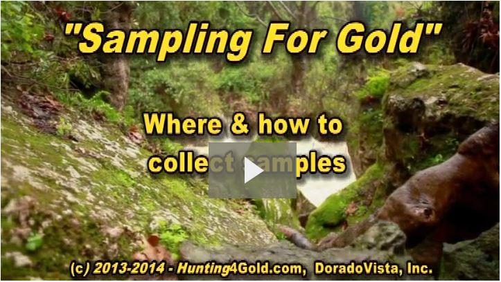 Sampling for gold video thumbnail